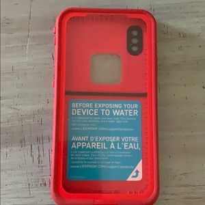 Used Lifeproof Fre Case for IPhone X